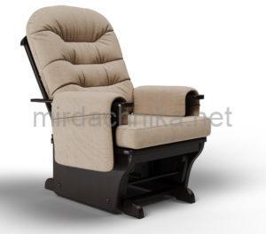 "Кресло-глайдер ""Тревел"" Ткань мебельная Sand"