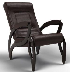 """Кресло """"Космос"""" ( Модель 51 ) Экокожа Dark Brown"""