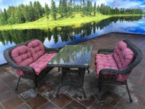 Комплект мебели Мэдисон (Medison) 2 дивана + стол