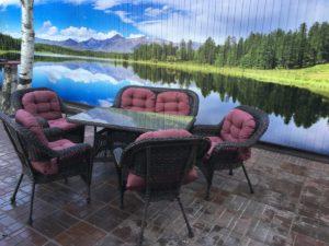 Комплект мебели Мэдисон (Medison) диван + стол + 4 кресла