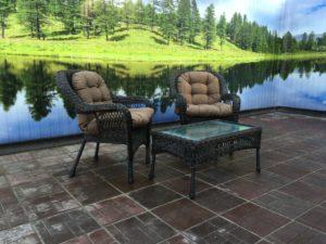 Комплект мебели Мэдисон(Medison) 2 кресла+ столик