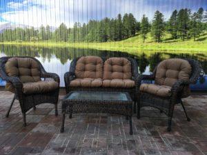 Комплект мебели Мэдисон (Medison) диван + 2 кресла + столик